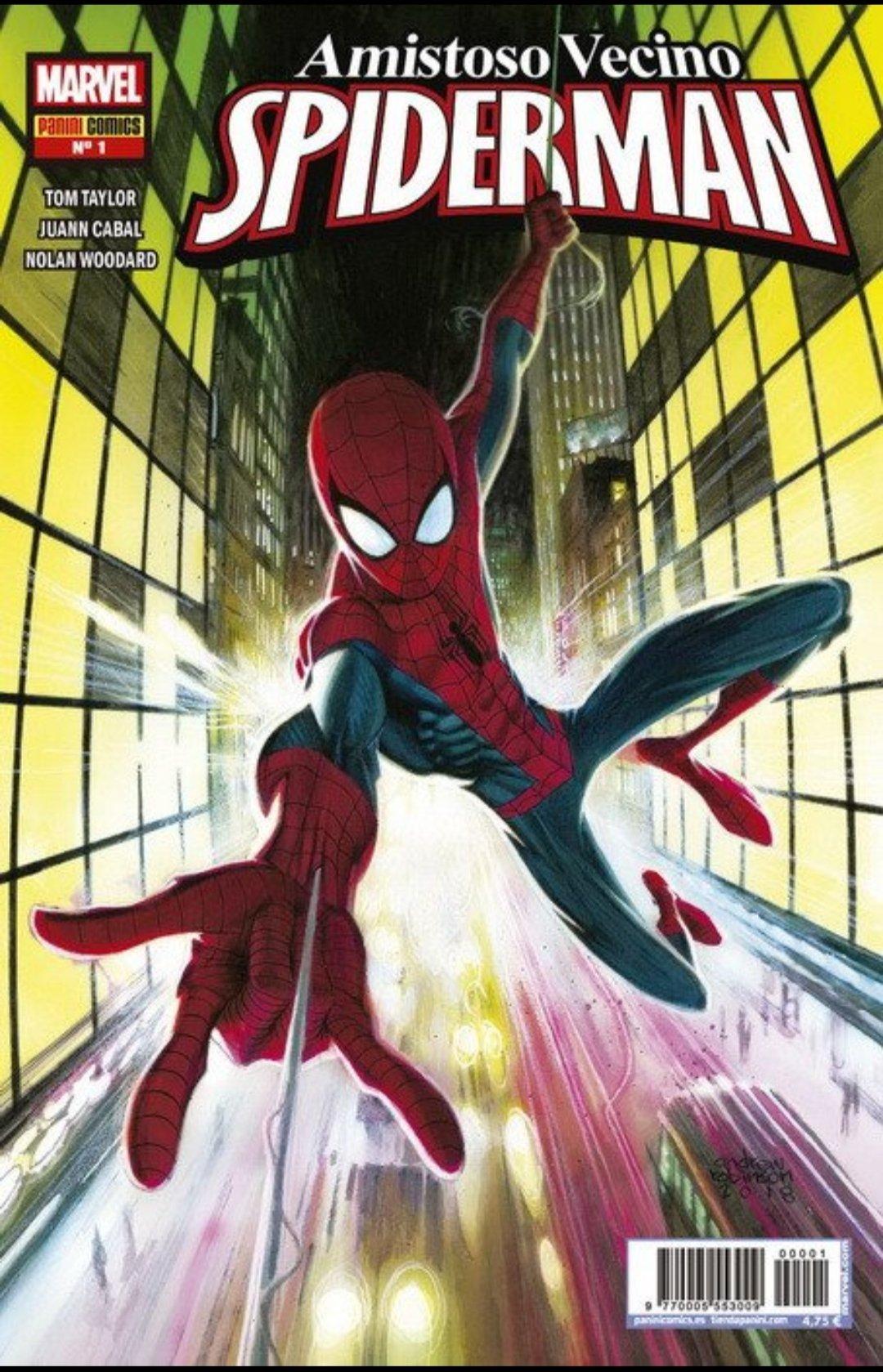 Amistoso Vecino Spiderman