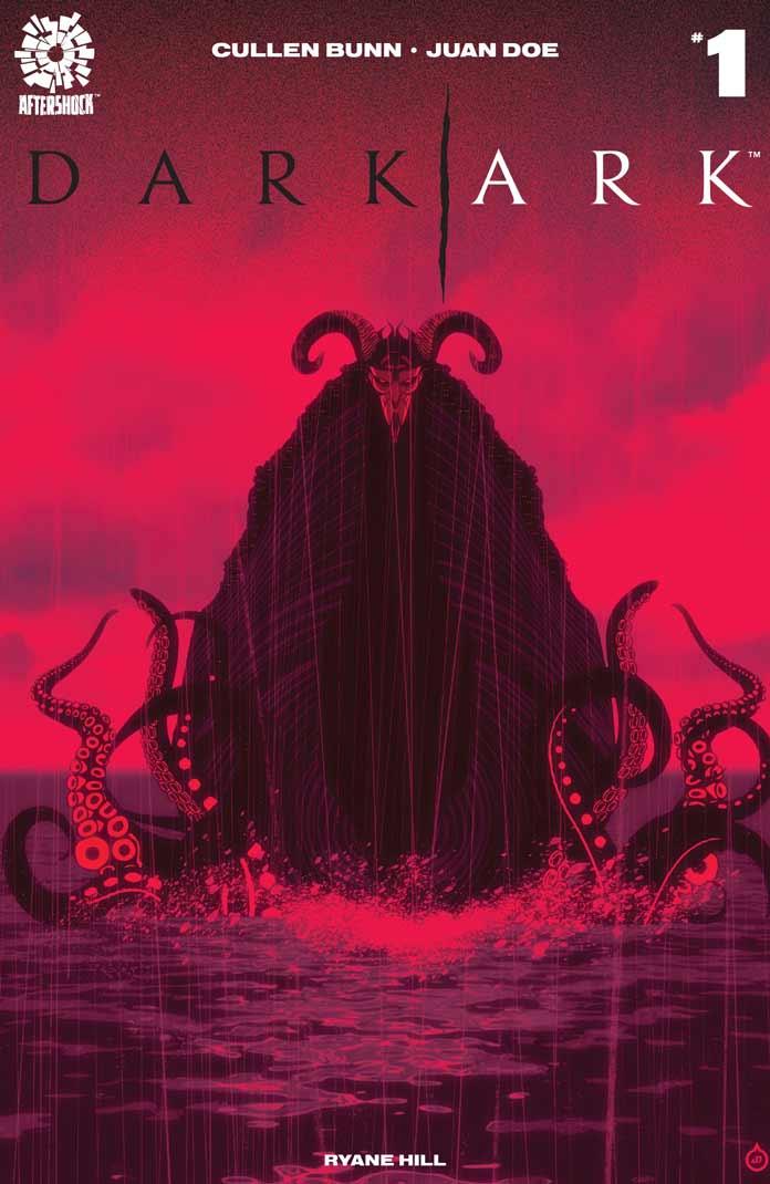 Portada del número 1 de Dark Ark