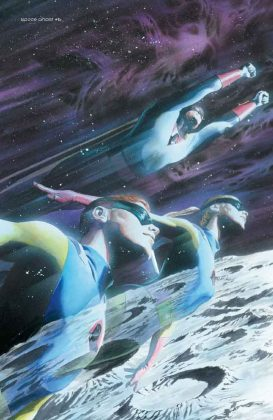 Portadas de Alex Ross para Space Ghost