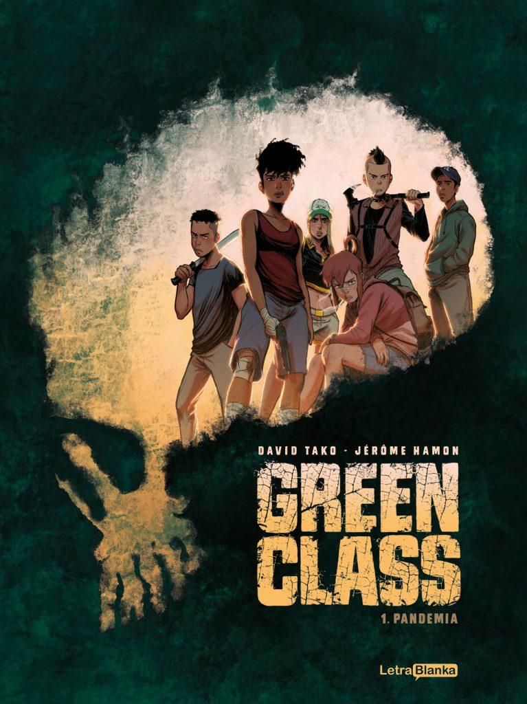 Green Class, de Jérôme Hamon y David Tako editada por LetraBlanka en España