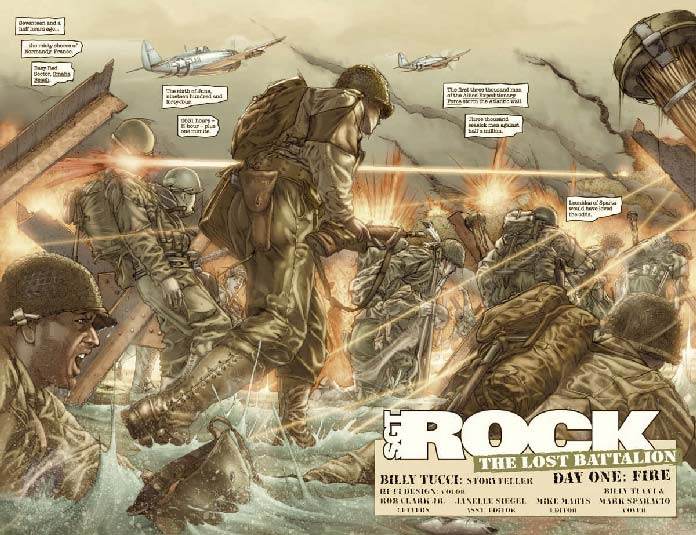 Sgt. Rock - The Lost Battalion