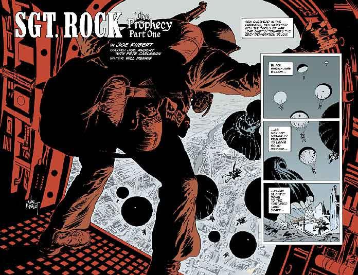 Sgt. Rock - La Profecía