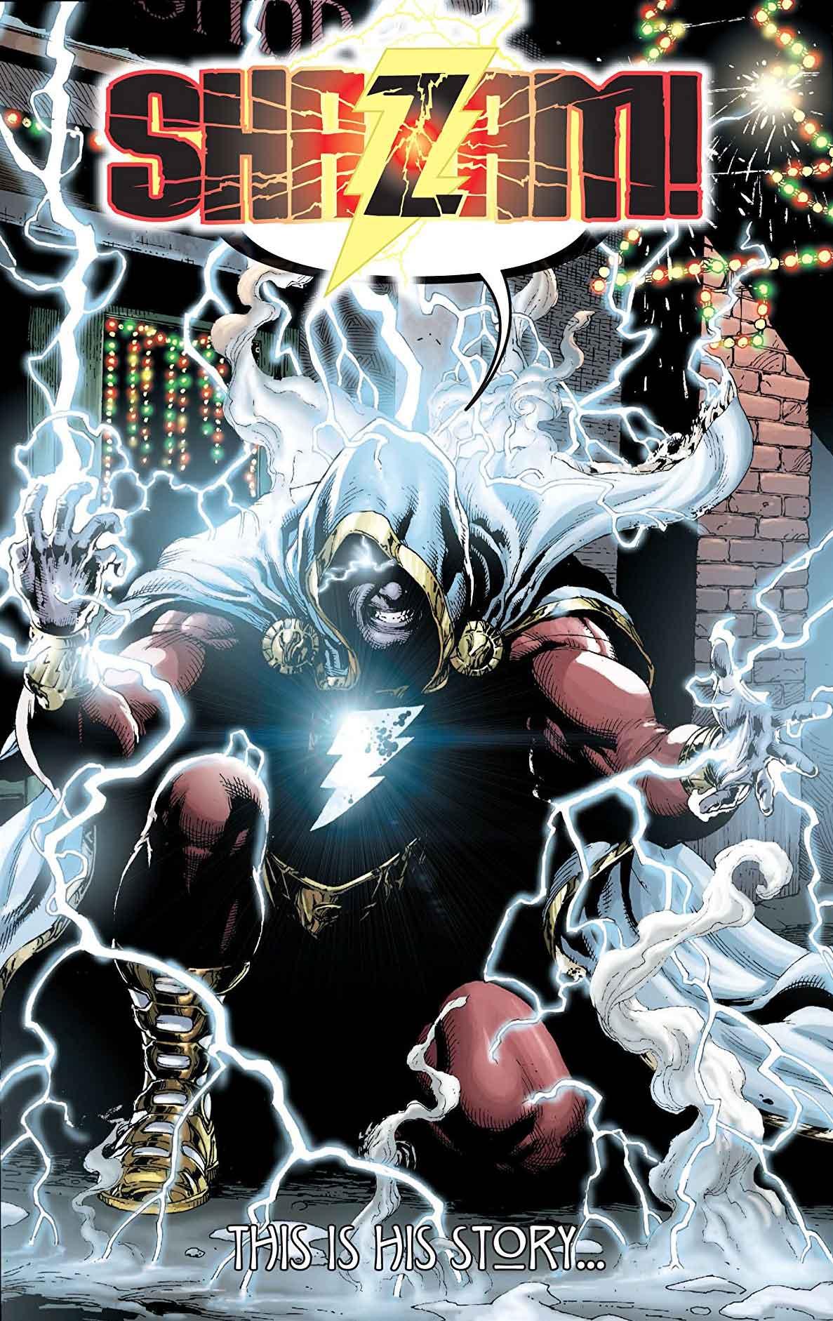 Shazam! en los Nuevos 52, guionizado por Geoff Johns y dibujado por Garry Frank