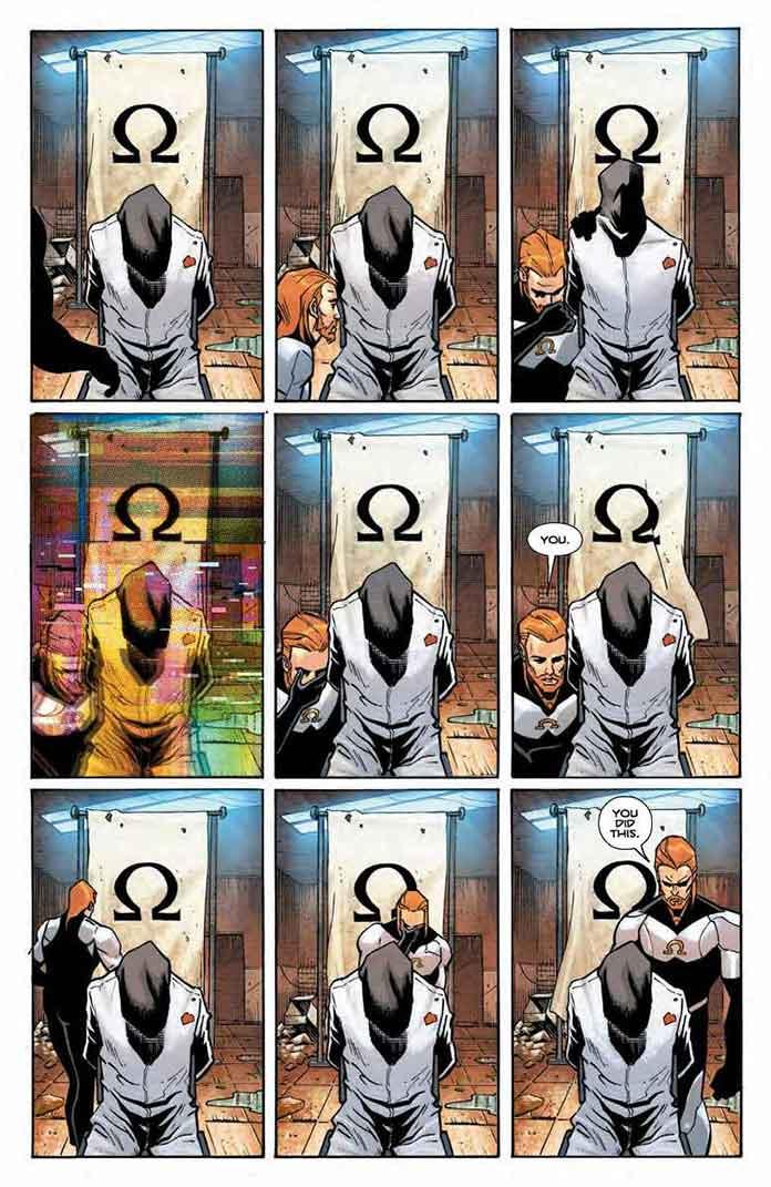The Omega Men de Tom King y Barnaby Bagenda