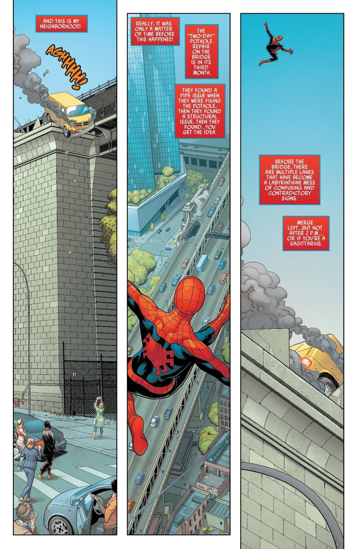 Spiderman al rescate