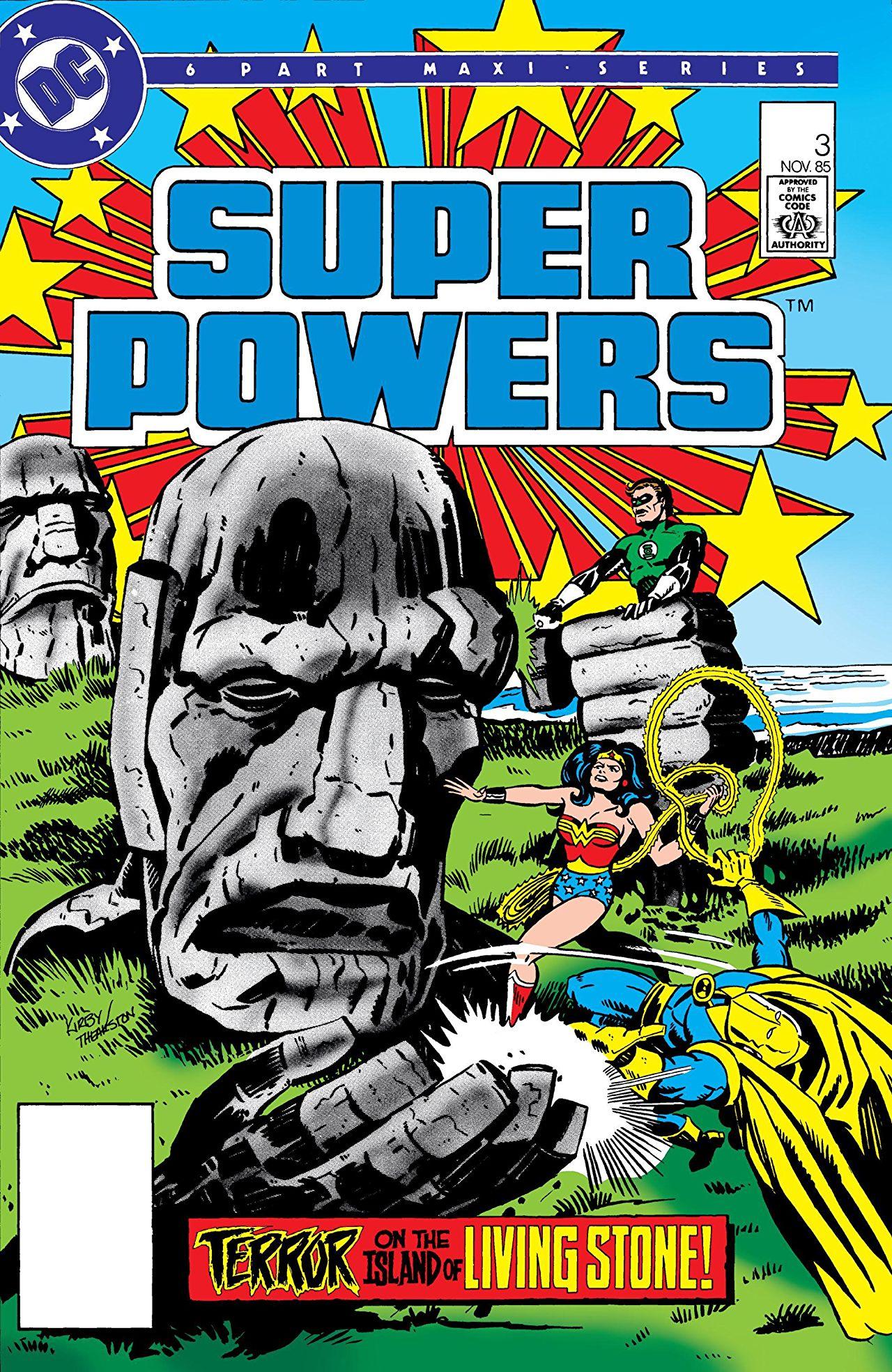 Portada del SuperPowers #3