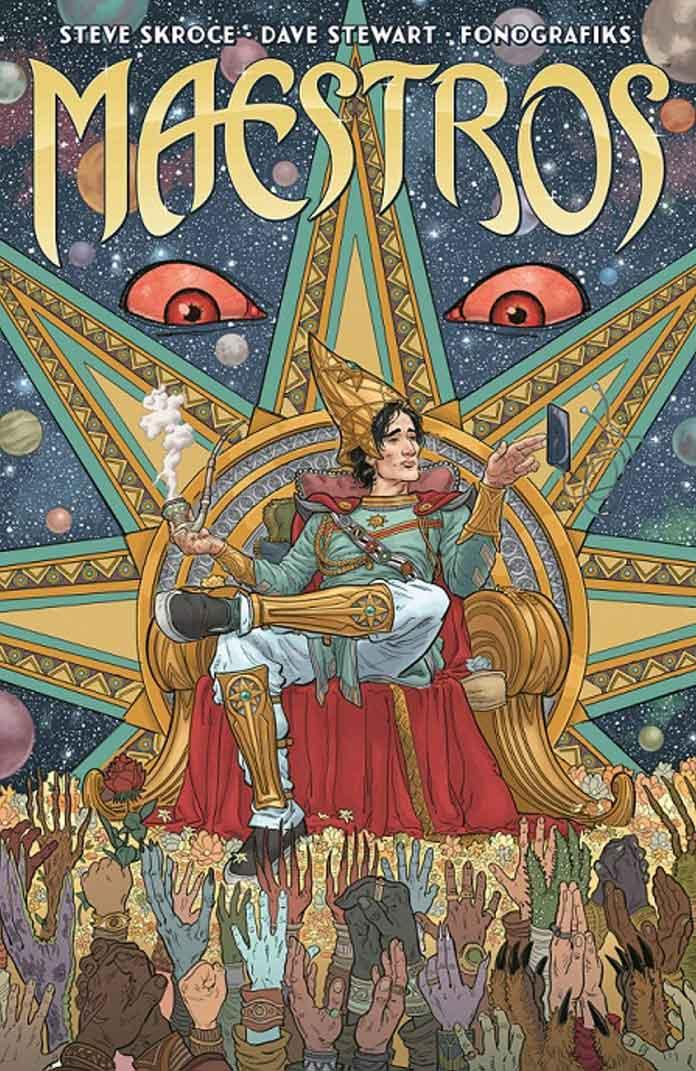 Portada Maestros – Norma Comics