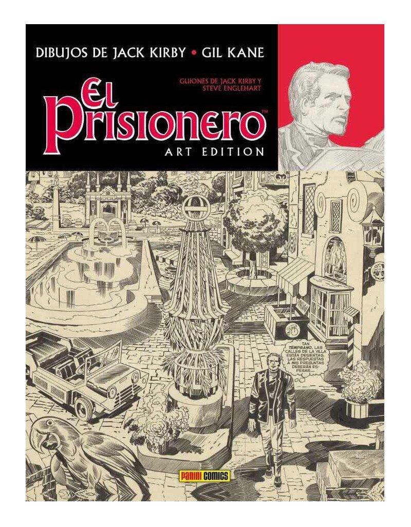 Portada de la edición de Panini Cómics de El Prisionero Art Edition