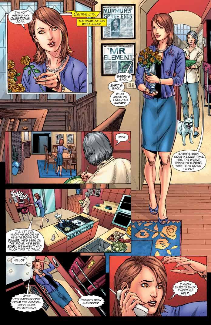 Iris West, esposa de Barry Allen